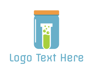 Jar - Blue Jar Lab logo design