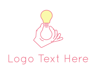 Furniture - Light Bulb logo design
