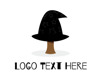 Fiction - Wizard Tree logo design