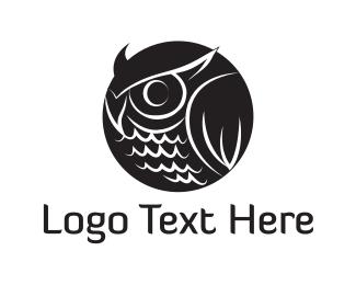 Owl - Owl Circle logo design