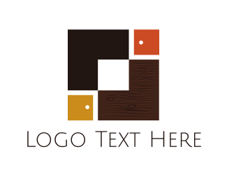 Door - Carpentry Boxes logo design