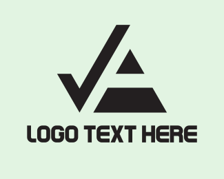 Checkbox - Black Check logo design