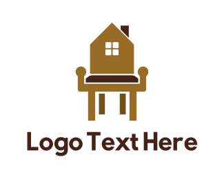 Interior Designer - Home Furniture logo design