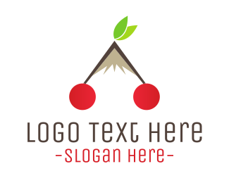 Cherry - Cherry Peak  logo design