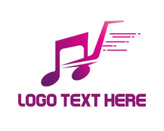 Supermarket - Music Shopping logo design