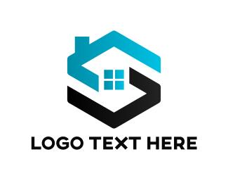 Village - Synchronize property logo design
