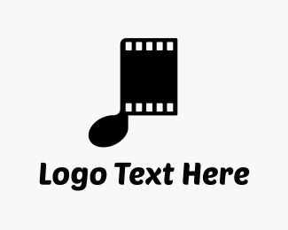 Music - Musical Films logo design