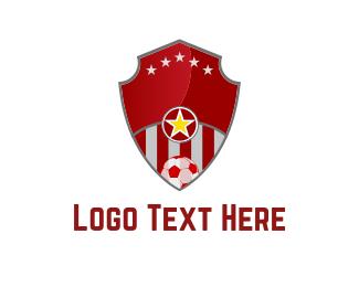 Soccer - Soccer Shield logo design