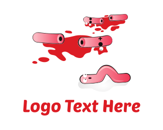 Pepperoni - Sausages Crime Scene logo design