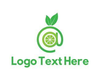 Lemonade - Online Green Lime logo design