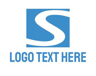 Way - Blue River logo design
