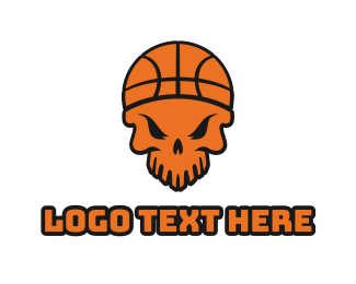 Corps - Skull Basketball  logo design