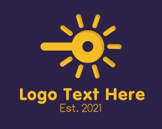 Sunlight - Solar Power logo design