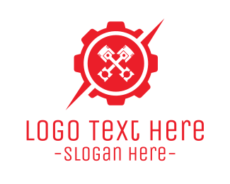 Cog - Industrial Gear logo design