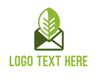 Post - Eco Message logo design