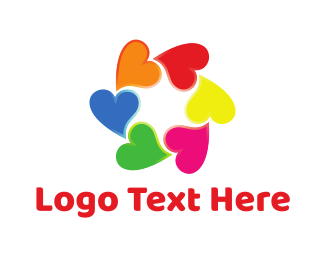Lovely - Love Group logo design