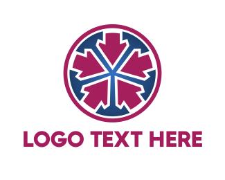 Pointer - Center Target logo design