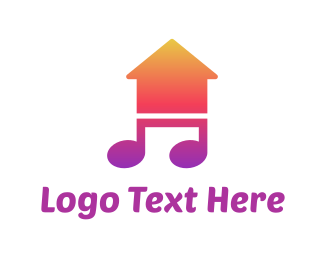 Singer - Musical House logo design
