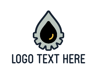 Diesel - Oil Drop logo design
