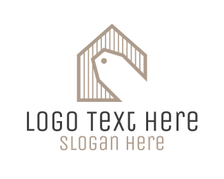 Shop - Home Tag logo design