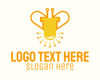 Lighting - Led Bug logo design