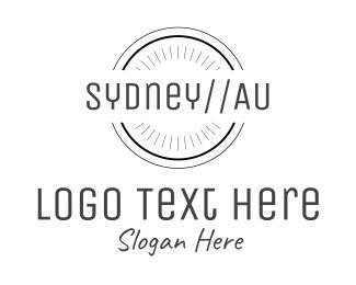 Bondi - Sydney Australia logo design