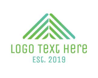 Mining - Triangle Pattern logo design