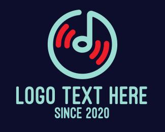Musical Note Logos | Musical Note Logo Maker | BrandCrowd