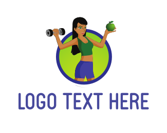 Activewear - Healthy Fitness logo design