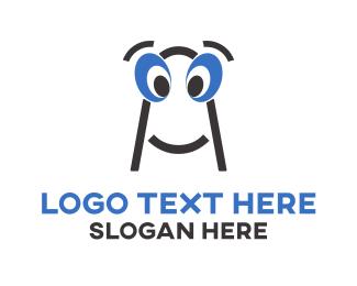 Animation - A Eyes logo design