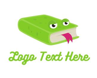 Read - Frog Books logo design