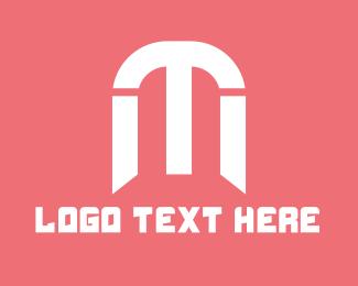 Mom - T & M logo design
