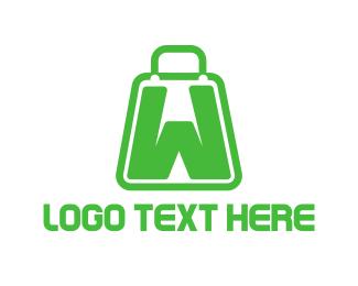 Wix - Bag Letter W logo design