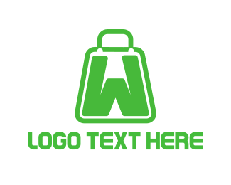 Facebook - Bag Letter W logo design