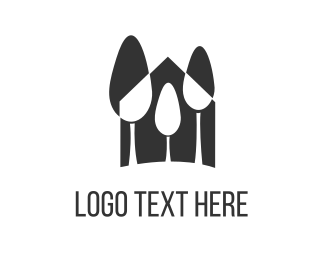 Lodge - Black Forest logo design