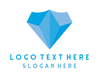 Good - Diamond Shield logo design