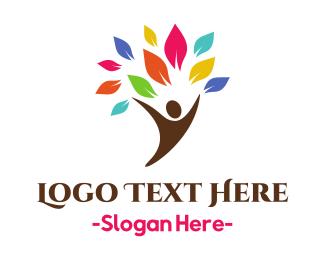 Counseling - Human Branch logo design
