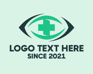 Optical - Eye Clinic logo design
