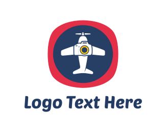 Tour - Aircraft Photography logo design