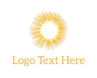 Light - Abstract Sunshine logo design