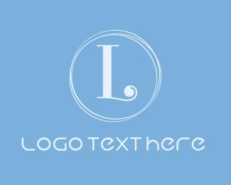 Hotel - Blue & Chic logo design