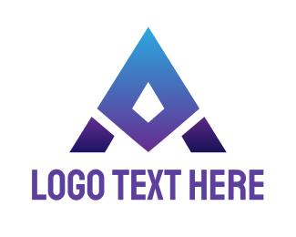 Sharp - Blue Sharp A logo design