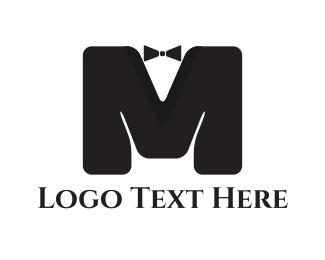 Tuxedo - Elegant Letter M logo design