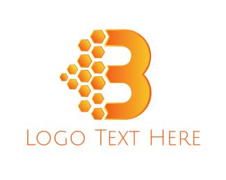 Honey - Honey Letter B logo design