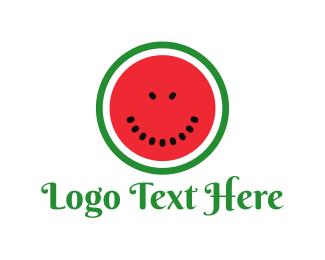 """Watermelon Face"" by logofish"