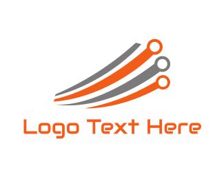 Chip - Fast Tech Circuits logo design