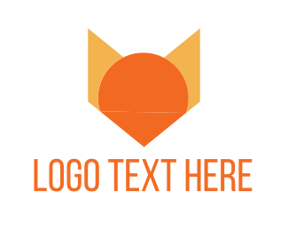 Geometric - Geometric Fox logo design