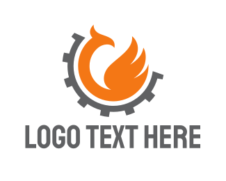 Autoshop - Phoenix Gear logo design