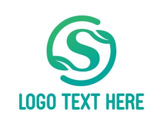 Zen - Gradient S Symbol logo design