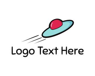 Aerospace - Fast Spacecraft logo design